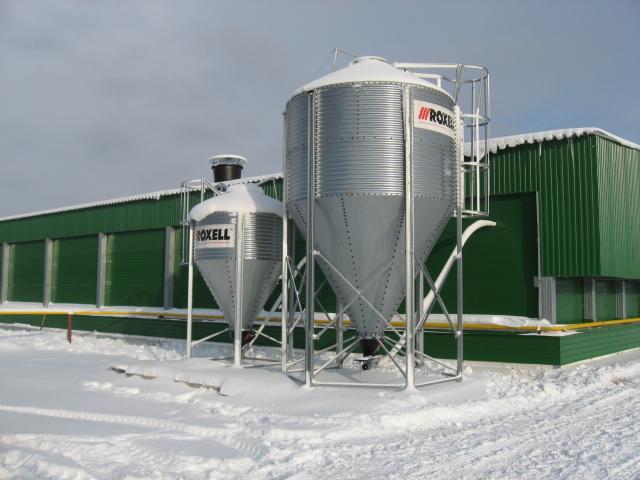 Племенная фабрика Лебяжье, система кормления для бройлеров, система вентляции для прородительского стада бройлеров